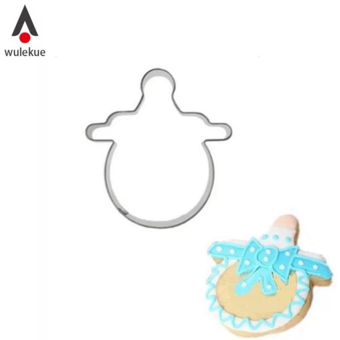 harga Cookie cutter bentuk dot bayi - cetakan kue kering Tokopedia.com