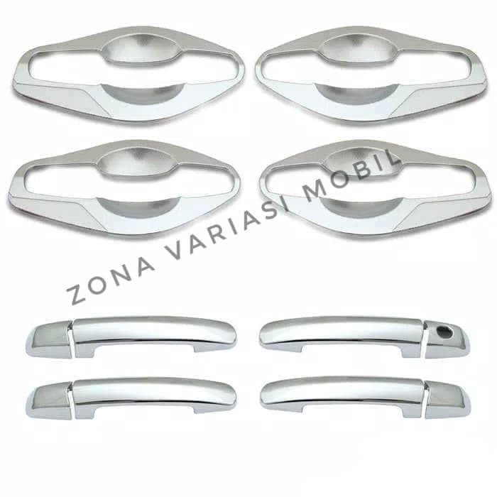 Paket Cover Handle + Outer Handle Suzuki Ertiga Chrome
