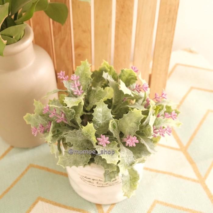 33210edd3a0 Jual Pot Bunga Keramik Bunga Palsu Artificial Dekorasi Meja Rumah ...