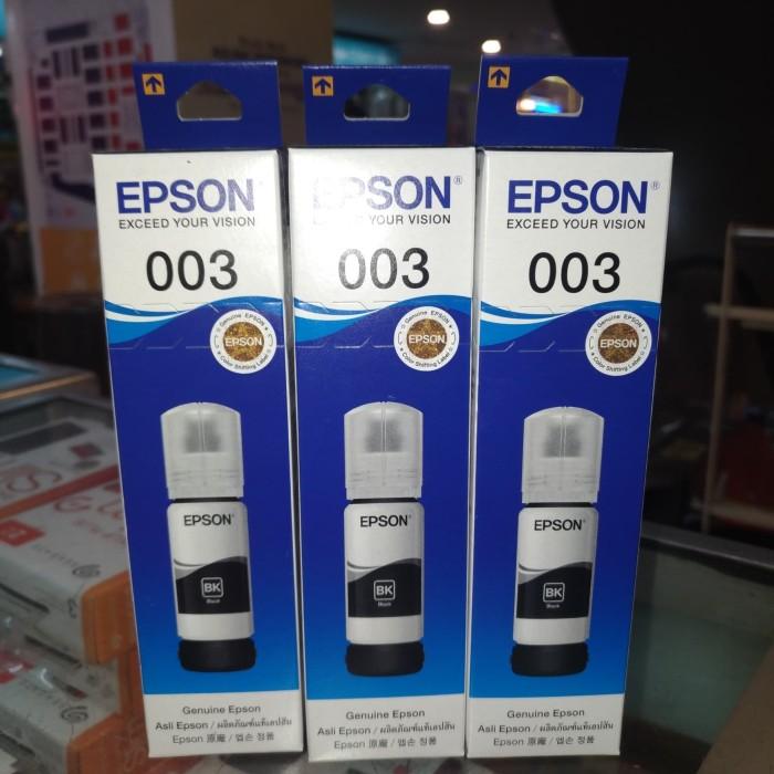 Jual Epson Tinta 003 Hitam Original untuk L1110 L3101