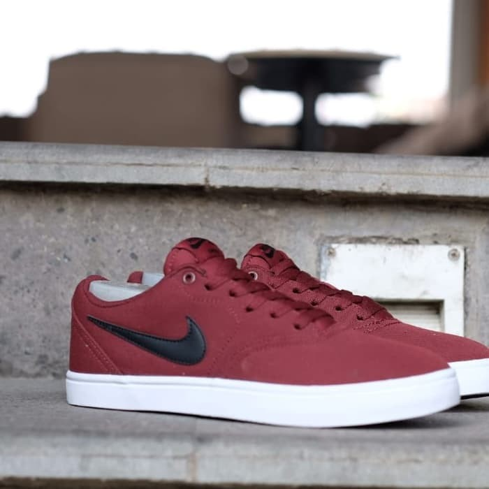 90c140a086dcad ... kualitas super nike sb portmore canvas original red marron black
