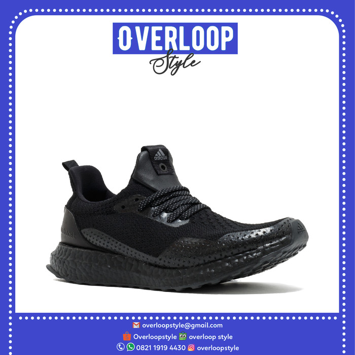 b4bcab248a19a Jual Sepatu Adidas ULTRA BOOST UNCAGED HAVEN TRIPLE BLACK Original ...