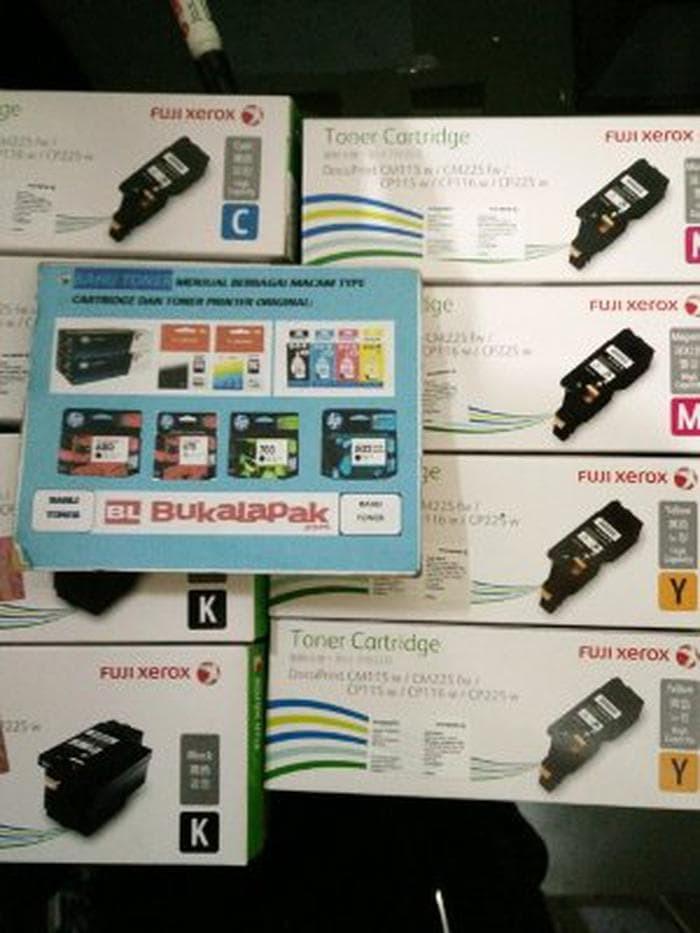 Jual Toner Cartridge Fuji Xerox CM115W CM225FW Black CT202264 Hight Kmp:98  - Kota Bekasi - oemar-565   Tokopedia
