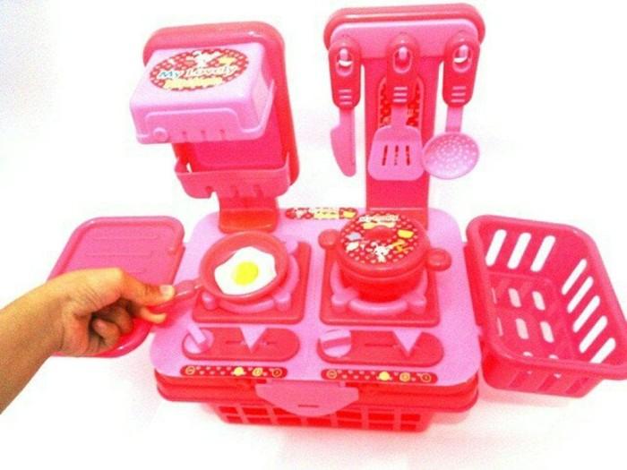 Termurah My Lovely Kitchen Set / Mainan Edukasi Masak - Masakan Anak