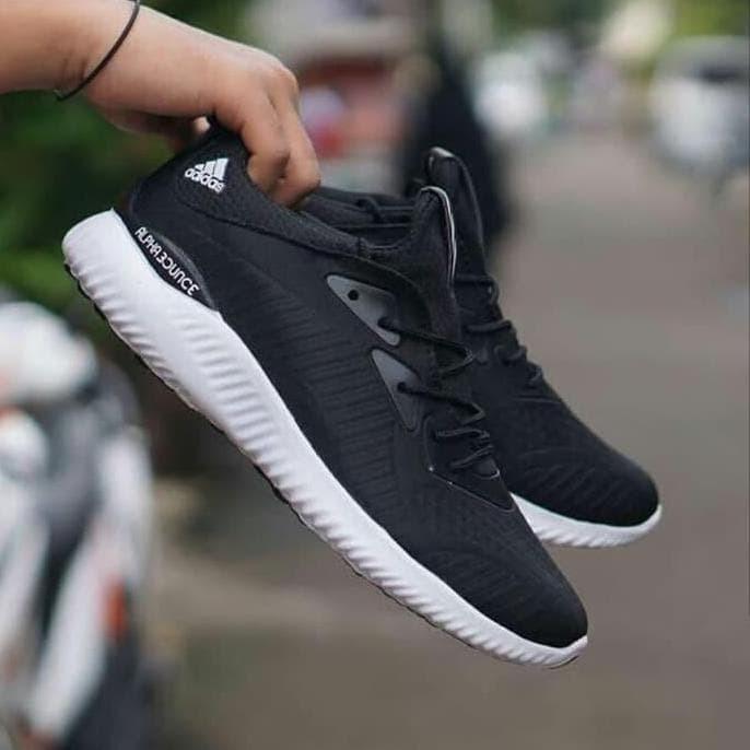 Jual Kualitas Terbaik Sepatu Running Sport Adidas Alphabounce Pria Jogging Jakarta Pusat Agungberkahilahi Tokopedia