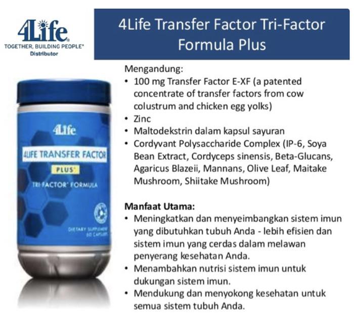 Katalog 4life Transfer Factor Plus Travelbon.com