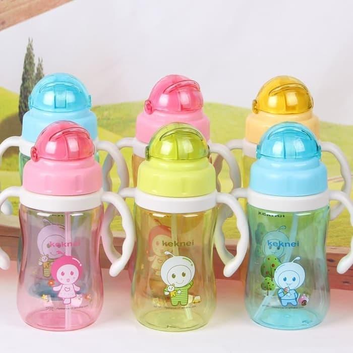 harga Botol minum anak bayi lucu unik b8406 bottle keknei susu pakai gagang Tokopedia.com