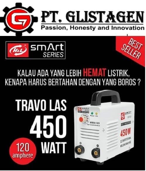 harga Travo las inverter listrik mma120 smart h&l series 450 watt Tokopedia.com