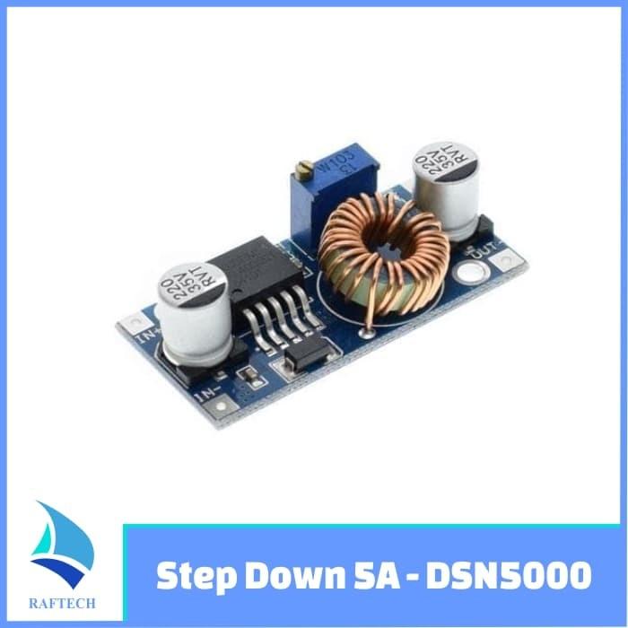 Foto Produk XL4005 - DC DC Adjustable Step Down Module Step Down 5A - DSN5000 dari RAFTECH
