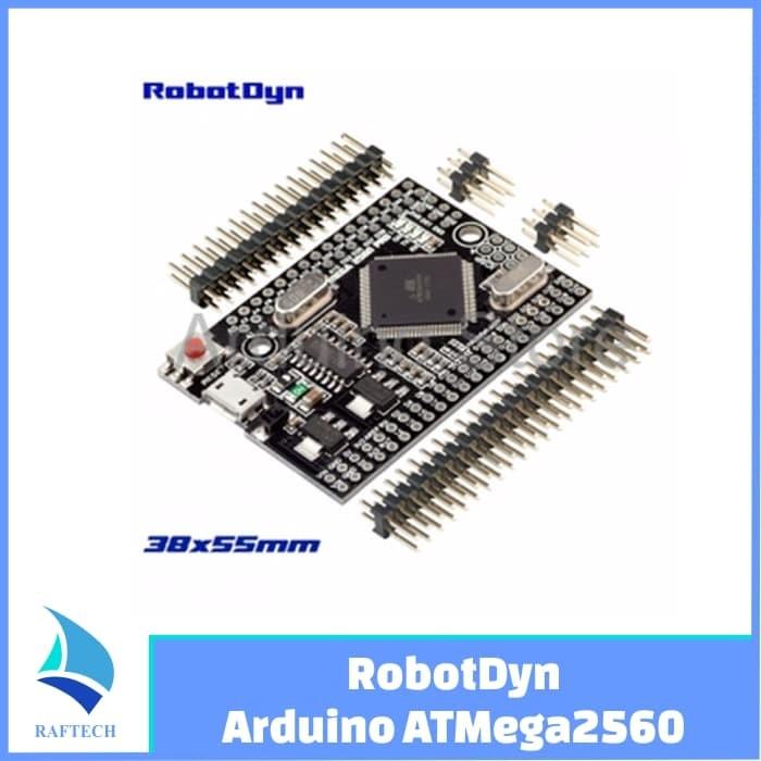 Foto Produk Compatible RobotDyn Arduino Mega Mini 2560 Pro CH340G microUSB dari RAFTECH