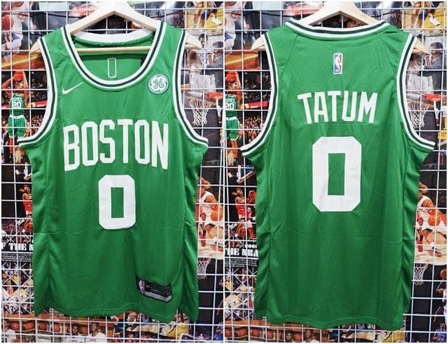meet 99444 2b111 Jual Jersey NBA Boston Celtics #0 Jayson Tatum Green Hijau - Kota Batam -  AJ Basketball Store   Tokopedia