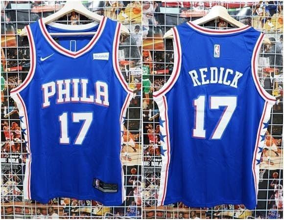new styles 12ba4 a1760 Jual Jersey Basket Swingman Philadelphia Sixers 76ers JJ Redick Biru - Kota  Batam - AJ Basketball Store | Tokopedia