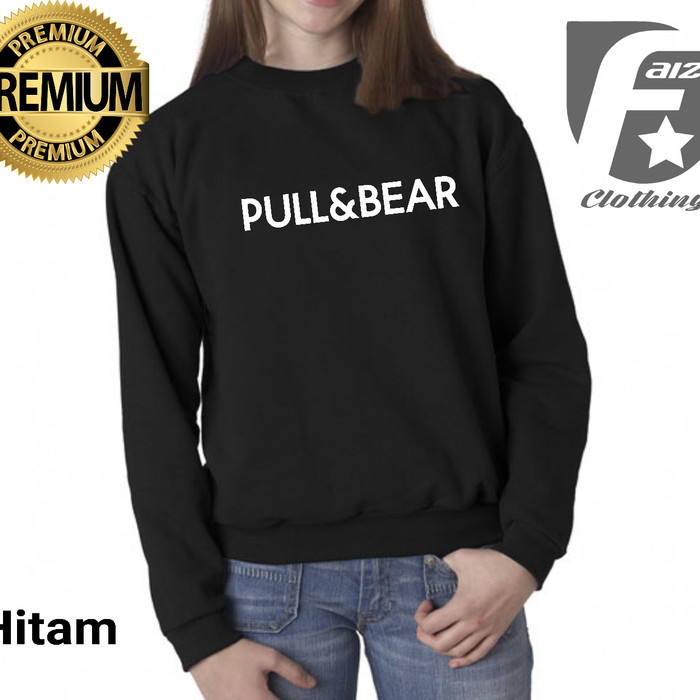 sweater basic pull and bear