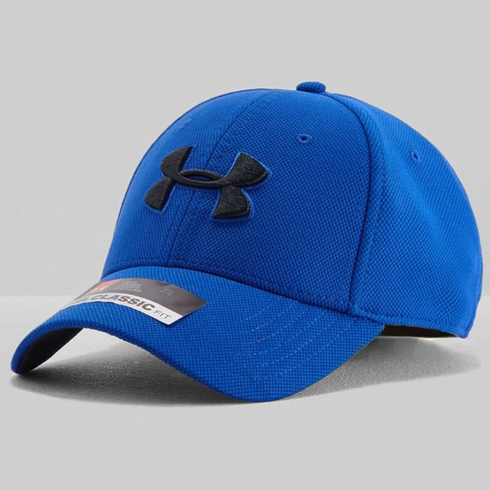 Jual Topi UNDER ARMOUR UA Blitzing 3.0 Cap Blue Classic Fit Hat ... 8f1c6d03e5