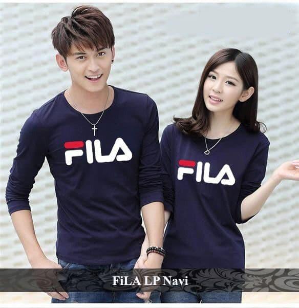 Foto Produk fila lp couple | baju couple | baju pasangan | kaos fila | kaos distro dari koleksi baju couple