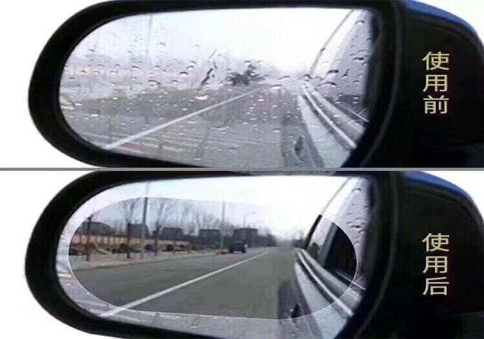 Anti Fog Film - Anti Embum Air Hujan Kaca Spion Mobil L300