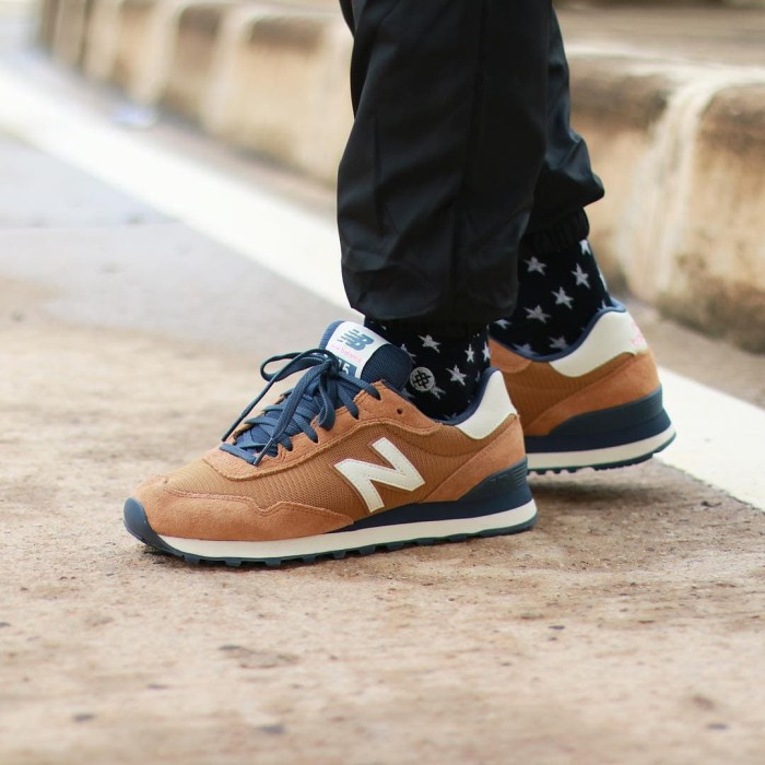 new balance 515 brown