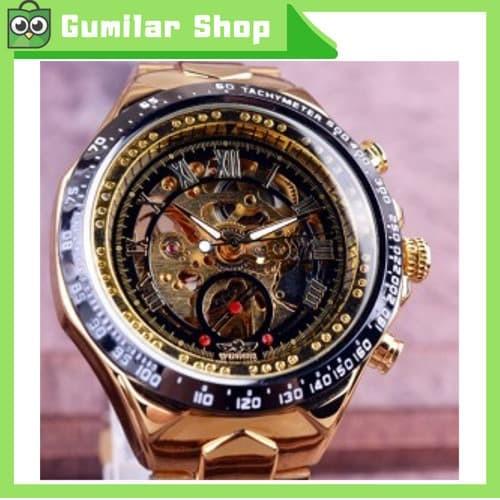 harga Winner jam tangan mechanical analog pria - gmt886-1 Tokopedia.com