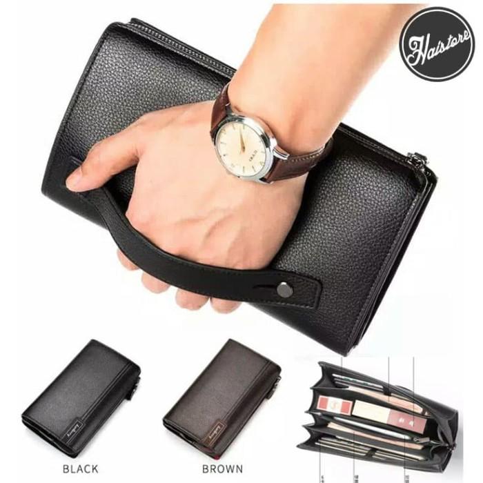 Jual Clutch Kulit Pria Wanita Murah Handbag Import Tas Tangan 0669 ... 4026aed339