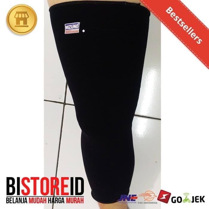 Foto Produk Knee support- deker panjang mizuno - deker lutut long olahraga dari Juragan Olahraga