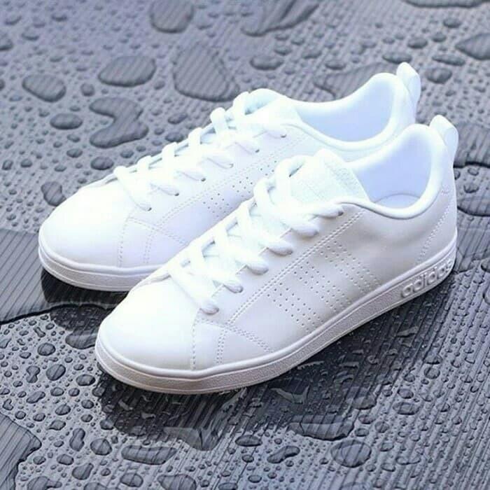 Jual Sepatu Adidas neo advantage full white Original BNWB ... 96031267e0