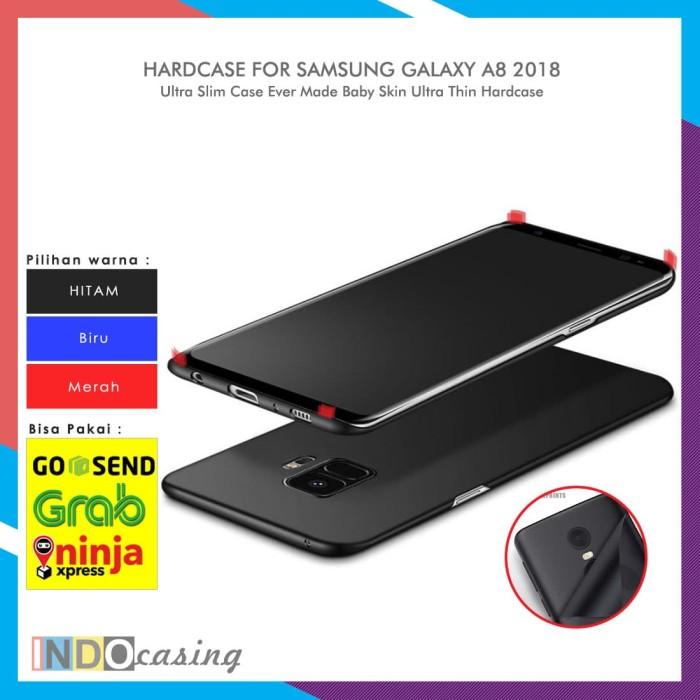 Harga Case Samsung Galaxy A8 2018 Baby Skin Ultra Thin Hardcase