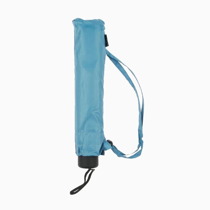 Loko payung lipat 3 golf susun topaz . simple elegan biru merah