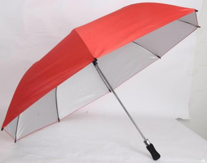 harga [free bubble + dus] payung golf otomatis lipat dua loko 2 besar polos Tokopedia.com