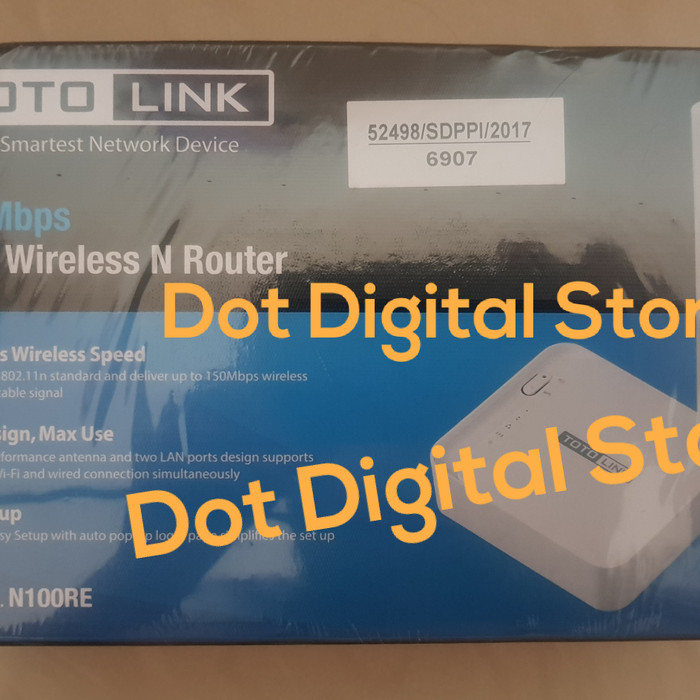 Totolink N100RE 150mbps Mini Wireless N Router Resmi Ori