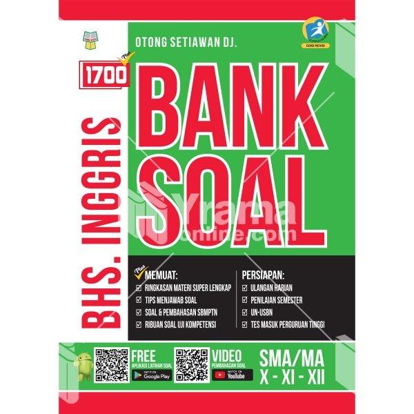 Jual Buku 1700 Plus Bank Soal Bahasa Inggris Sma Ma Kurikulum 2013