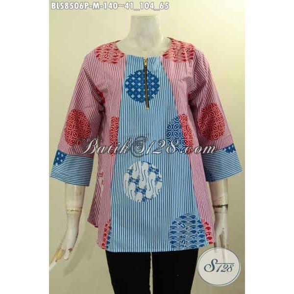 Jual Model Baju Batik Kerja Wanita Karir Terbaru Lengan 7 8 Size M Bls8506p Kota Surakarta Batik S128 Tokopedia