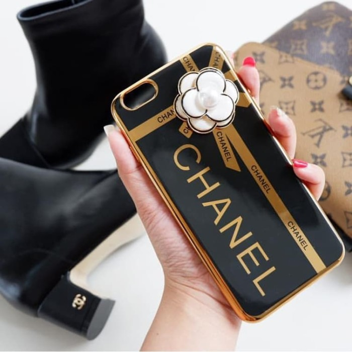 buy popular 28200 4d393 Jual CHANEL case Iphone 6/6+ 7/7 plus / Chanel flower branded case Iphone -  Jakarta Timur - Favor_Collection | Tokopedia
