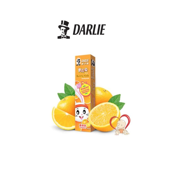 Darlie Bunny Kids Tooth Paste Odol Orange - 40 Gr / 40gr / 40 - Gr - Blanja.com