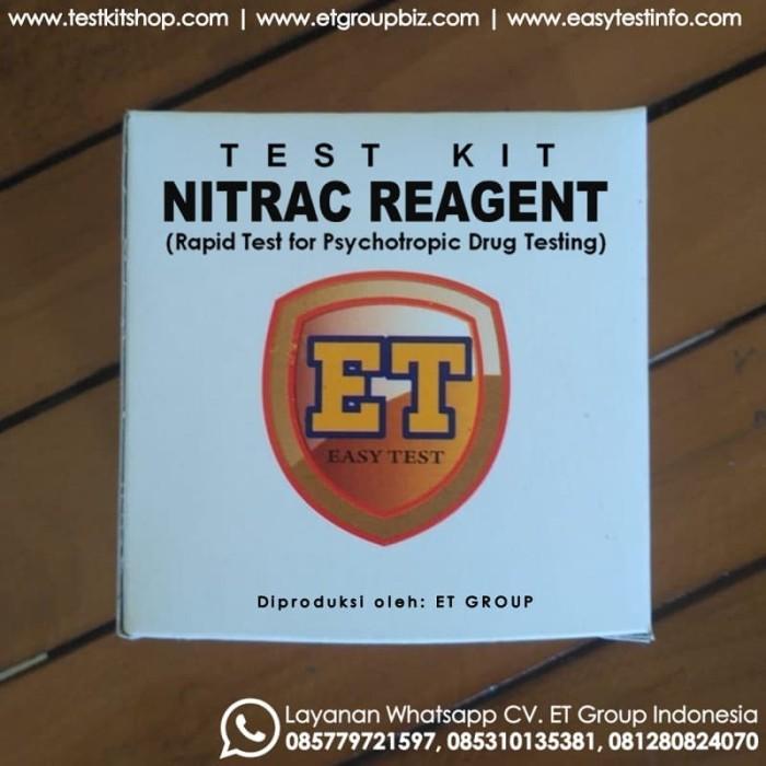 Foto Produk NitrAc Reagent - Test Kit untuk Uji Cepat Obat-obatan (Drug Testkit) dari easytest