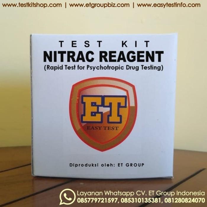 Foto Produk NitrAc Reagent - Tes Kit untuk Uji Cepat Obat-obatan (Drug Test Kit) dari easytest