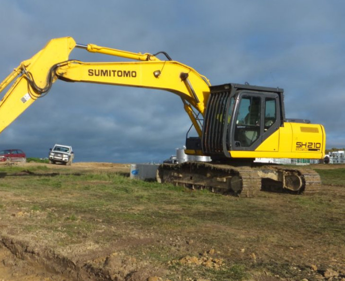 Water Tank Fits Kobelco Excavator SK330LC