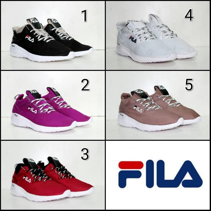 Jual Sepatu Fila X Bounce Sneakers Wanita Casual Sport Import ... 2d8078b7e7