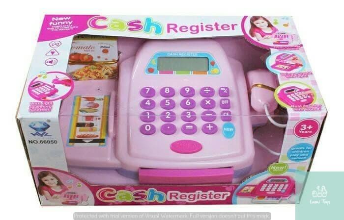 Foto Produk Cash Register Mainan Anak Perempuan Cashier Kasir Kasiran dari Lumi Toys