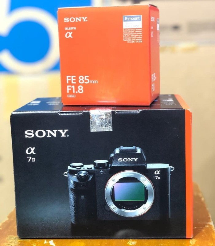 harga Sony camera / kamera alpha a7ii / a7 mark ii + lensa fe 85mm f1.8 Tokopedia.com