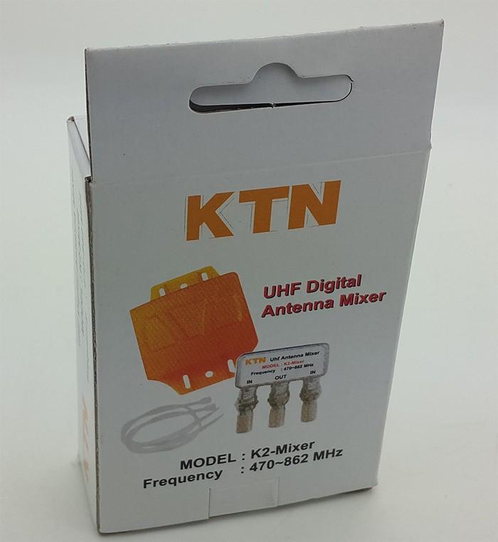 harga Kitani uhf digital antenna mixer / alat pararel input 2 antenna jadi 1 Tokopedia.com