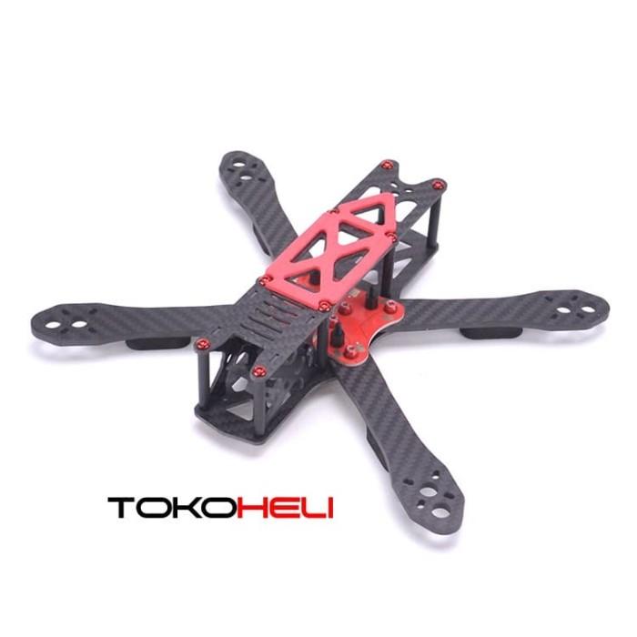 Foto Produk Alien RR5 225mm Red w/ PDB Carbon Fiber Frame Kit dari TokoHELI