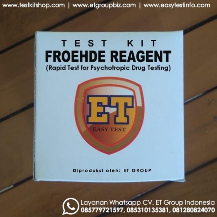 Foto Produk Froehde Reagent - Tes Kit untuk Uji Cepat Obat-obatan / Drug Test dari easytest