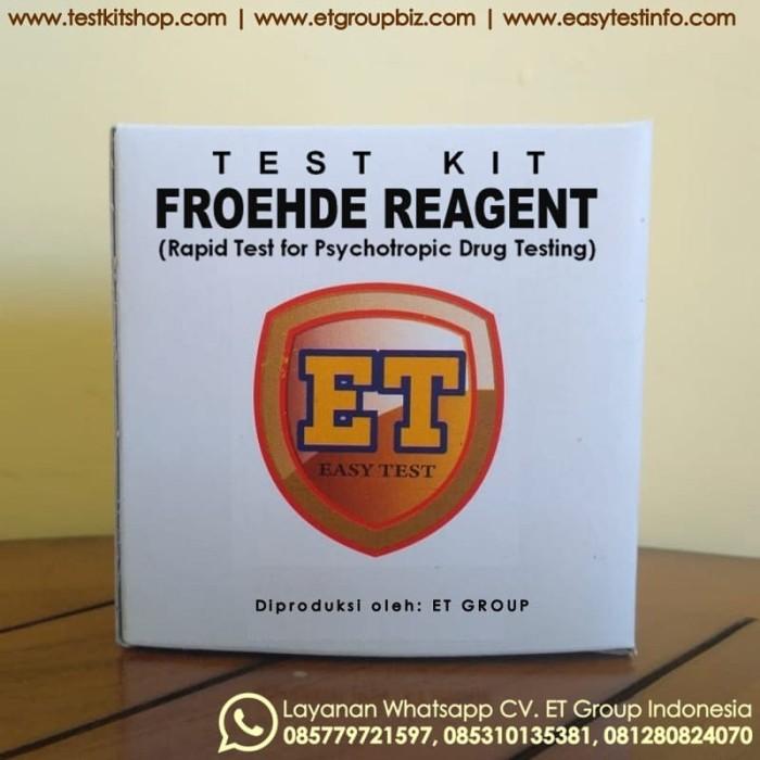 Foto Produk Froehde Reagent - Test Kit untuk Uji Cepat Obat / Drug Testing dari easytest