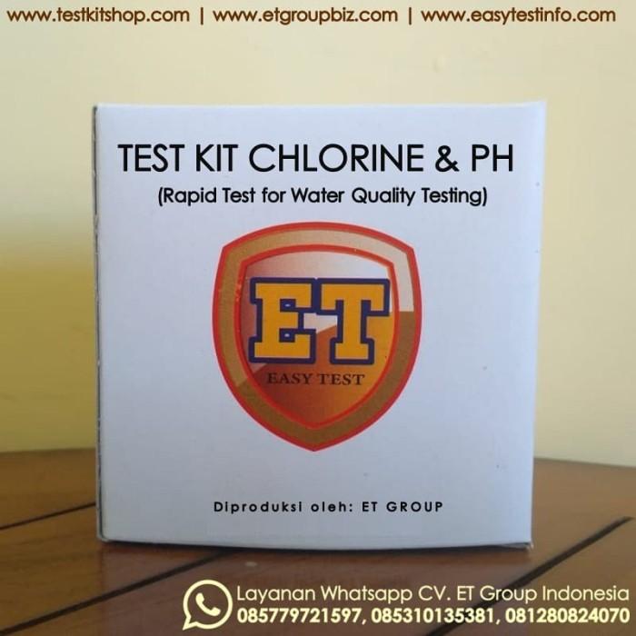 Foto Produk Test Kit Chlorine pH merk ET - Teskit Klorin dan pH - Tes Mutu Air dari easytest