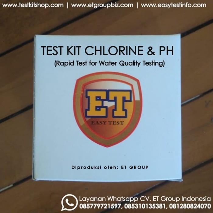 Foto Produk Test Kit Chlorine pH merk ET - Testkit Klorin dan pH - Tes Mutu Air dari easytest