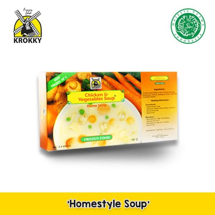 Foto Produk Krokky Frozen Soup - Sop Ayam & Sayuran dari Krokky Food Official