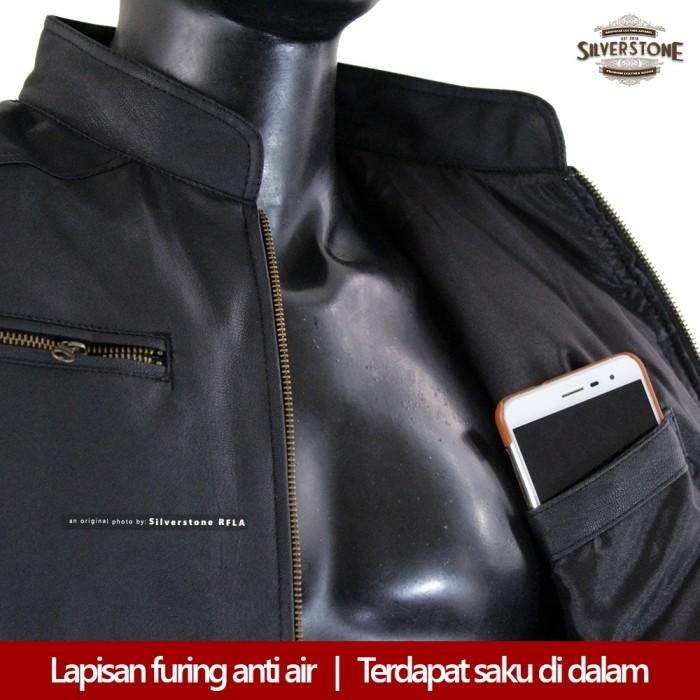 Silverstone Rfla Varsity Faux Leather Jacket Dark Brown - Daftar ... 8a4f30c627