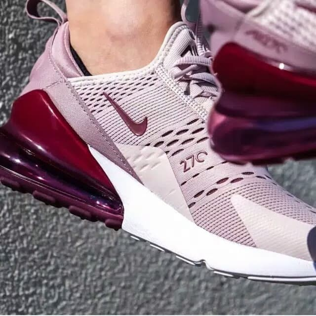 8cbf284f504 Jual Sepatu Nike Airmax 270 Barely Rose Women Premium Quality - DKI ...