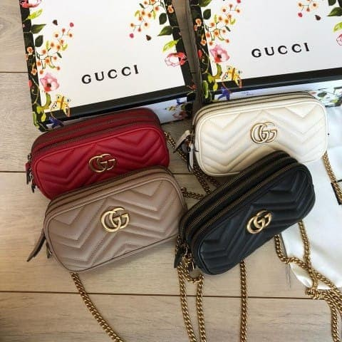 0ff81115119d Jual SLING BAG GUCCI GG MARMONT CHAIN AUTHENTIC MIRROR SUPER QUALITY ...