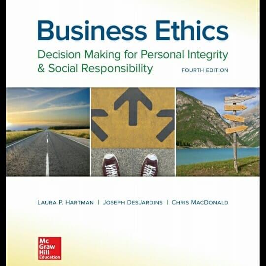 harga Business ethics 4th fourth edition laura p hartman desjardin macdonald Tokopedia.com